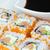 sushi · arroz · tigela · atum · salmão · camarão - foto stock © frank11