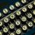 closeup of a old manual typewriter keyboard stock photo © frankljr