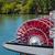 赤 · ホイール · 川 · 木 · 水 · ファッション - ストックフォト © frankljr