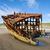 ржавые · крушение · судно · пляж · Орегон · побережье - Сток-фото © Frankljr