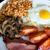 tradizionale · english · colazione · pomodori · pancetta - foto d'archivio © franky242