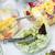 ボウル · 新鮮な · 緑 · サラダ · 行 · ケータリング - ストックフォト © franky242