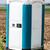 blue portable toilet stock photo © franky242