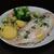 vis · aardappel · witte · plaat · voedsel - stockfoto © franky242