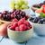 fruit harvest selection in bowls stock photo © frannyanne