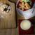 overhead of santa snacks milk and list stock photo © frannyanne