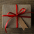 caja · de · regalo · cinta · etiqueta · blanco · papel · boda - foto stock © frannyanne