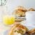 tradicional · francés · desayuno · mesa · manana - foto stock © frannyanne