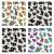 vektor · szett · absztrakt · színes · tehén · bőr - stock fotó © freesoulproduction