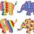 elefant · mare · desen · animat · mamifer · izolat · alb - imagine de stoc © freesoulproduction