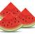 watermeloen · heerlijk · plakje · zomer · witte · dessert - stockfoto © freesoulproduction