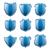 bleu · argent · bouclier · sécurité · ordinateurs · web - photo stock © freesoulproduction