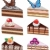 vector · cake · vruchten · chocolade · voedsel - stockfoto © freesoulproduction