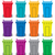 vector set of colorful flat recycling wheelie bin icons stock photo © freesoulproduction