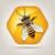 favo · de · mel · abelha · símbolo · projeto · natureza · vintage - foto stock © freesoulproduction