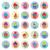 colorido · colección · aislado · tortas - foto stock © freesoulproduction