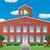 vetor · amarelo · escolas · estrada · rural · flor · árvore - foto stock © freesoulproduction