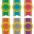 vektor · díj · jelvények · szett · részletes · szatén - stock fotó © freesoulproduction