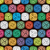 vector seamless abstract pattern of colorful yarn balls stock photo © freesoulproduction