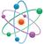 modelo · átomo · fundo · bola · branco · química - foto stock © freesoulproduction