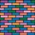 vector colorful brick wall stock photo © freesoulproduction