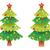 cor · natal · decoração · bola · vetor · conjunto - foto stock © freesoulproduction