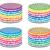 establecer · colorido · cumpleanos · tortas · vector · ardor - foto stock © freesoulproduction