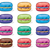 vector clipart collection of colorful macarons stock photo © freesoulproduction