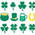 vector set of st patricks day icons stock photo © freesoulproduction