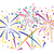 vector abstract anniversary bursting fireworks stock photo © freesoulproduction