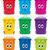 wektora · zestaw · recyklingu · śmieci · cartoon · podpisania - zdjęcia stock © freesoulproduction