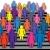 многие · человека · иллюстрация · человека · фон · мертвых - Сток-фото © freesoulproduction