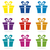 vector set of gift box icons stock photo © freesoulproduction