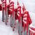 neige · rouge · chaises · intempéries - photo stock © Freila