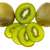 kiwi · coupé · blanche · isolé · alimentaire - photo stock © Freila