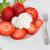fraises · crème · blanche · plaque · chambre · texte - photo stock © Freila