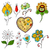 цветы · травы · вектора · любви · цветочный - Сток-фото © frescomovie