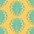 monocromático · tribal · ornamento · floral - foto stock © frescomovie