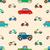 автомобилей · шаблон · бесшовный · вектора · шаблон · дизайна - Сток-фото © frescomovie