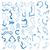 青 · インク · ベクトル · テクスチャ · 芸術 - ストックフォト © frescomovie