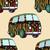 70s · patroon · gedetailleerd · illustratie · abstract · kleurrijk - stockfoto © frescomovie