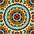 colorido · vector · resumen · mandala · geométrico · ilustración - foto stock © frescomovie