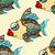 魚 · シームレス · 画像 · 紙 · テクスチャ · 自然 - ストックフォト © frescomovie