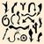 vector · negro · establecer · 26 · dibujado · a · mano · flechas - foto stock © frescomovie