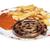 гриль · спиральных · колбаса · полосатый · пластина - Сток-фото © frescomovie