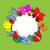 desenho · animado · bicho · aniversário · ilustração · bolo · de · aniversário · festa - foto stock © frescomovie