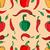 biber · kırmızı · yeşil · sonsuz - stok fotoğraf © frescomovie