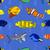 deniz · hayvanları · kart · gülümseme · deniz · dizayn - stok fotoğraf © frescomovie
