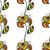 virágmintás · végtelen · minta · virágok · levelek · díszítő · hát - stock fotó © frescomovie