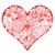 vektor · kézzel · rajzolt · pop · art · illusztráció · szeretet · levelek - stock fotó © frescomovie